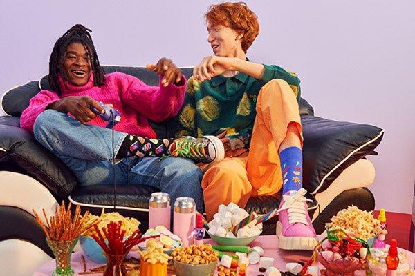 Nieuwe collectie Happy Socks: sokken waarvan je vrolijk wordt