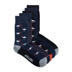 flying socks 5-pack blauw