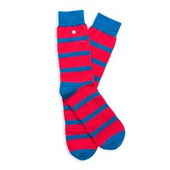 stripes rood & blauw