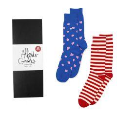 hearts & stripes 2-pack giftbox multi