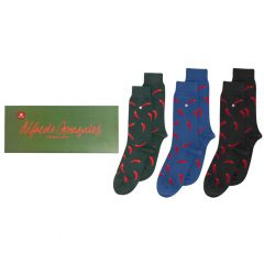 red peppers 3-pack giftbox