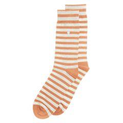 harbour stripes oranje & wit