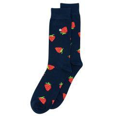 strawberries blauw
