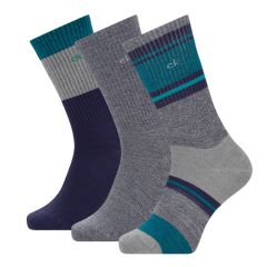 sustainable casual 3-pack blauw & grijs