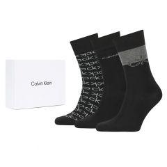multi logo dress 3-pack giftbox zwart