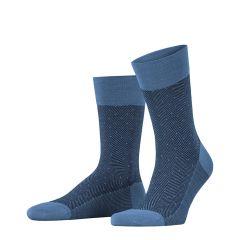 sensitive herringbone blauw