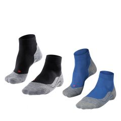 RU4 halfhoog 2-pack zwart & blauw