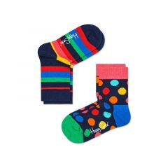 kids 2-pack big dot & stripes II