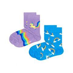 kids 2-pack unicorn rainbow multi