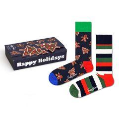 gingerbread cookies giftbox 2-pack multi