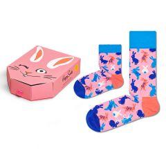mini me bunny giftbox 2-pack roze