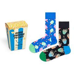 snacks giftbox 2-pack blauw & zwart