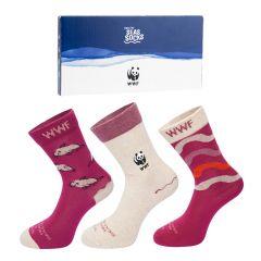 dames giftbox 3-pack sailfish multi (WWF)