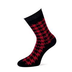 dames donya zwart & rood