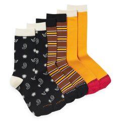 stripe & print 3-pack multi