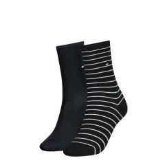 dames small stripe 2-pack zwart