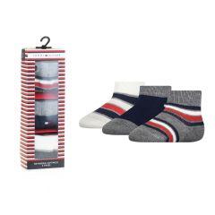 baby giftbox 3-pack logo stripe mix multi