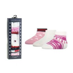 baby giftbox 3-pack iconic mix roze & wit