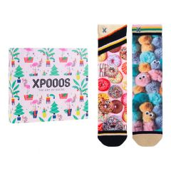 dames giftbox 2-pack donut dolly & fluffy multi